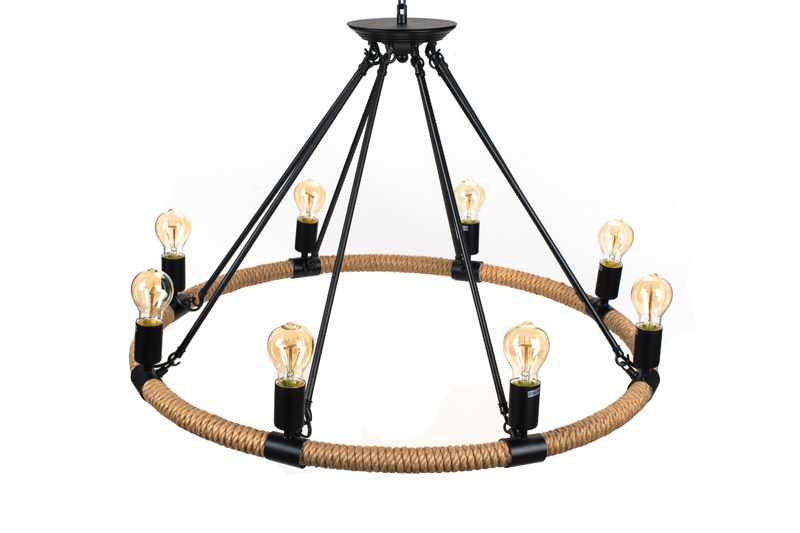 Pendant Lamp Hemp Rope - TUGUE 830