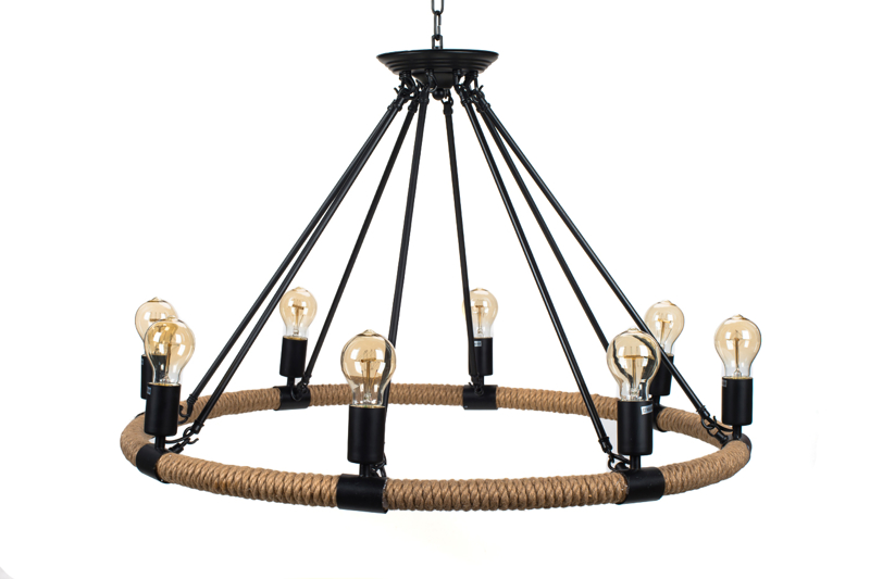 Pendant Lamp Hemp Rope - TUGUE 830