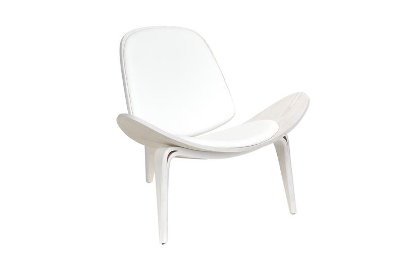 Fotel TELESUME Drewno Białe