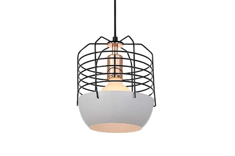 Lampa ATLANTEX 200 Biało-Czarna