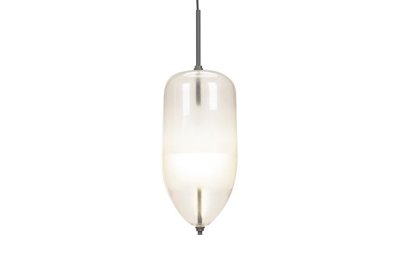 Lampa Wisząca MANSET 205 Przezroczysta