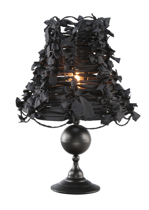 Lampa Stołowa ART-DECO BLACK 2525
