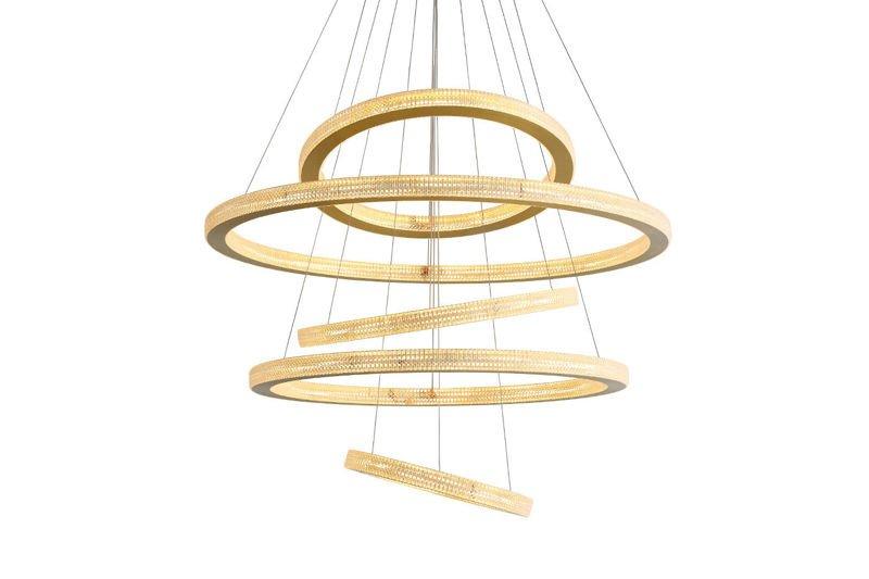 Lampa Wisząca Okręgi LED - TARS 5 MODEL B