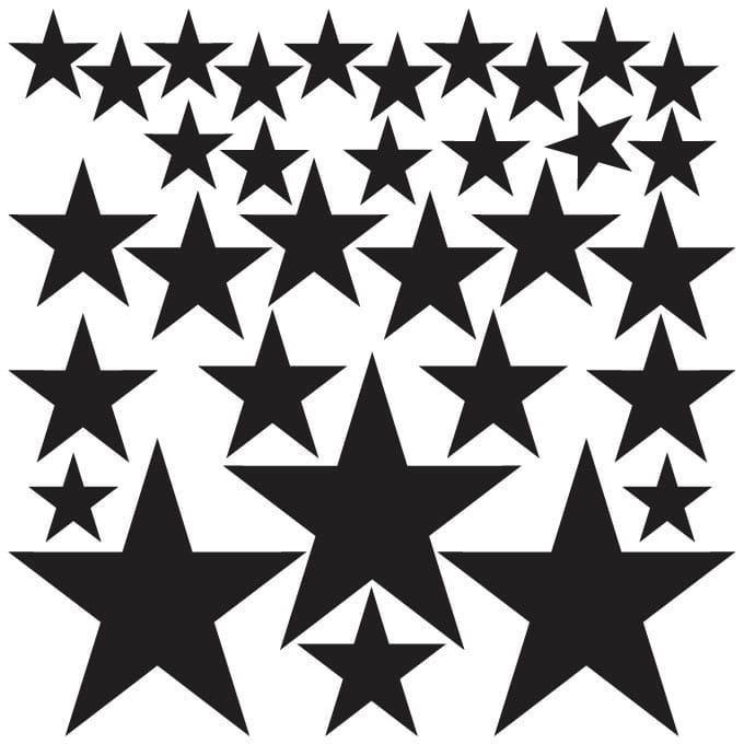 naklejki   gwiazdki - komplet Pastelowe Love